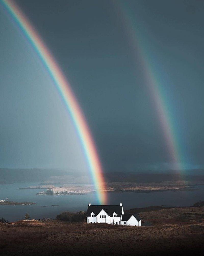 о. Скай, Шотландия день, животные, кадр, люди, мир, снимок, фото, фотоподборка