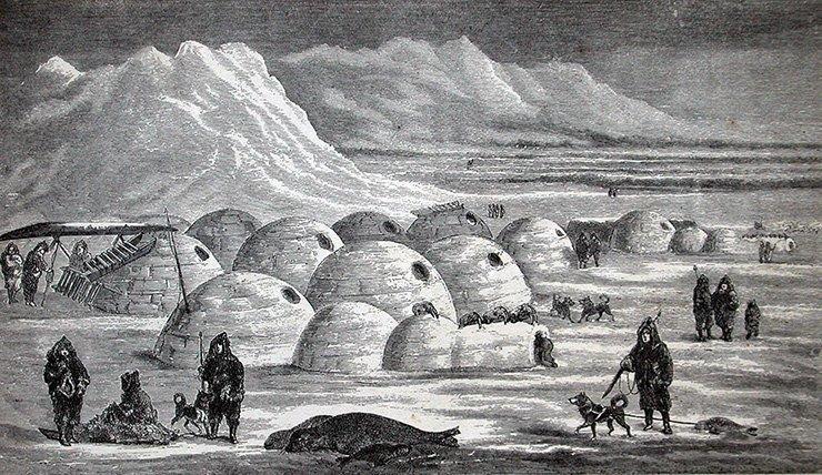 1. Деревня эскимосов возле водоёма Ангикуни в мире, история, исчезновение, люди, тайна