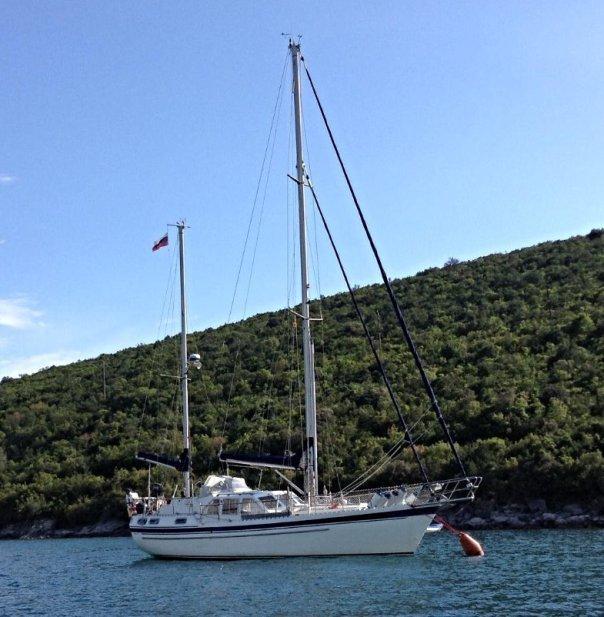 Для семьи из 4-х человек - нужно судно побольше,  кругосветка, отчет, путешествие