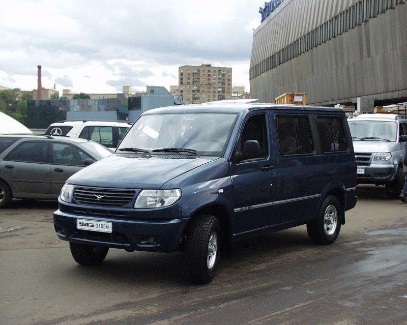 УАЗ-3165М авто, автомобили, буханка, концепт, концепт-кар, уаз, уаз буханка, фургон