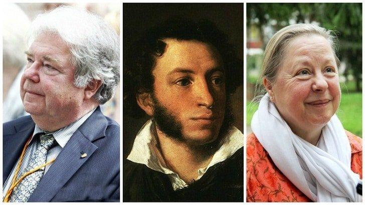 Александр Пушкин, Алексаандр и Мария-Мадлен Пушкины звезды, известные и знаменитые, интересно, медийные персоны, потомки