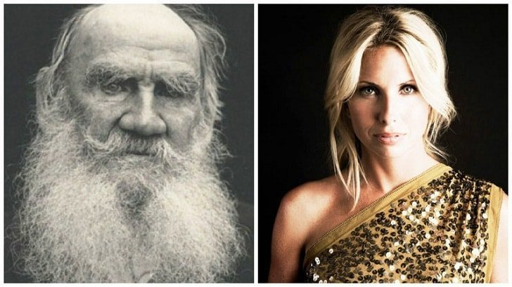 Лев Толстой и Виктория Толстой звезды, известные и знаменитые, интересно, медийные персоны, потомки