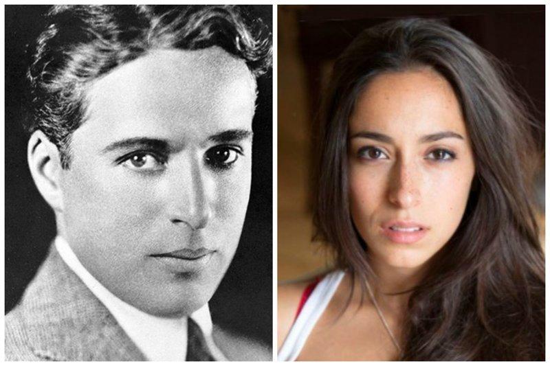 Чарли Чаплин и Уна Чаплин звезды, известные и знаменитые, интересно, медийные персоны, потомки