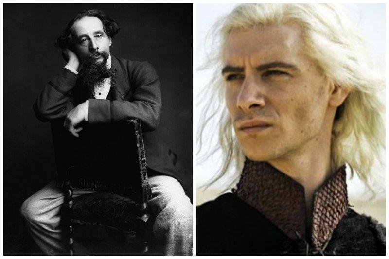 Чарльз Диккенс и Гарри Ллойд звезды, известные и знаменитые, интересно, медийные персоны, потомки