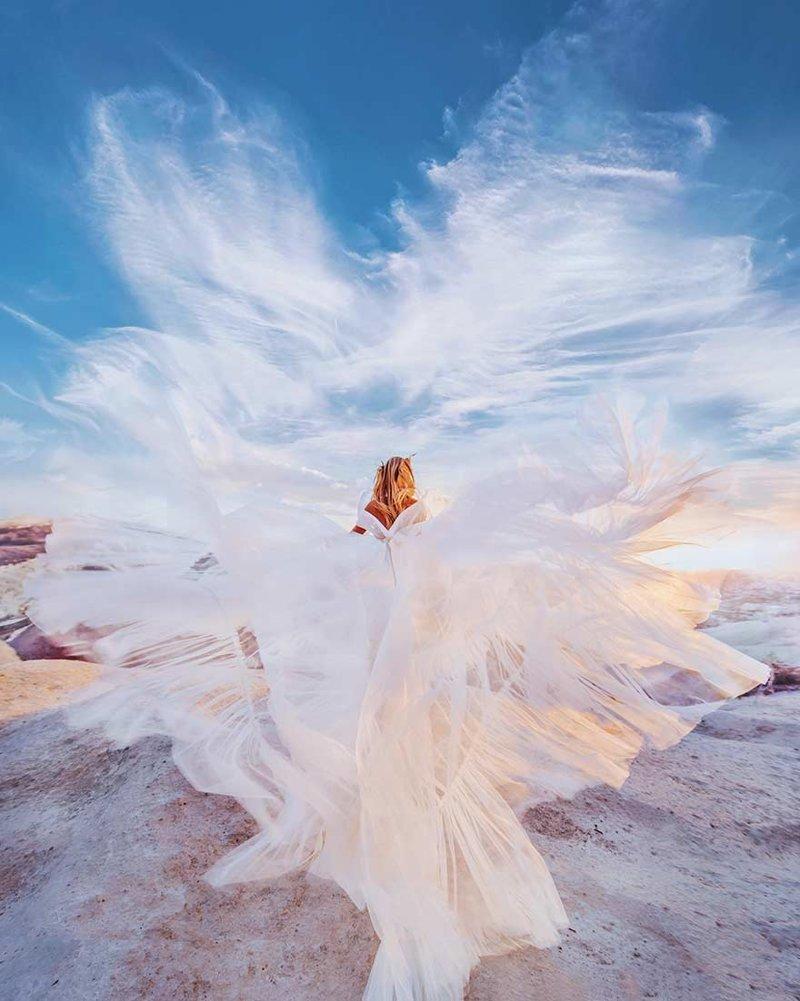 8. Каппадокия, Турция вау, девушки в платьях, красивые  места, красивые девушки, красота мира, модели, платья, фотопроект