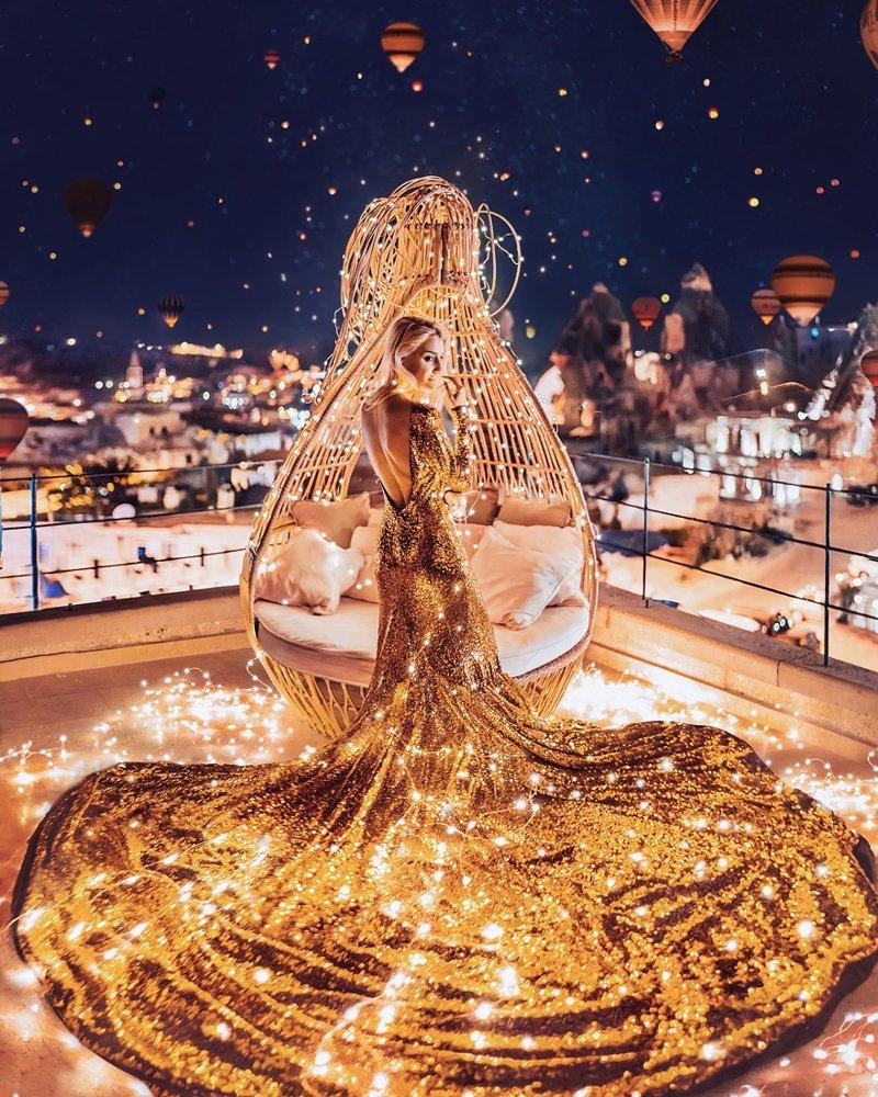 5. Гёреме, Каппадокия, Турция вау, девушки в платьях, красивые  места, красивые девушки, красота мира, модели, платья, фотопроект