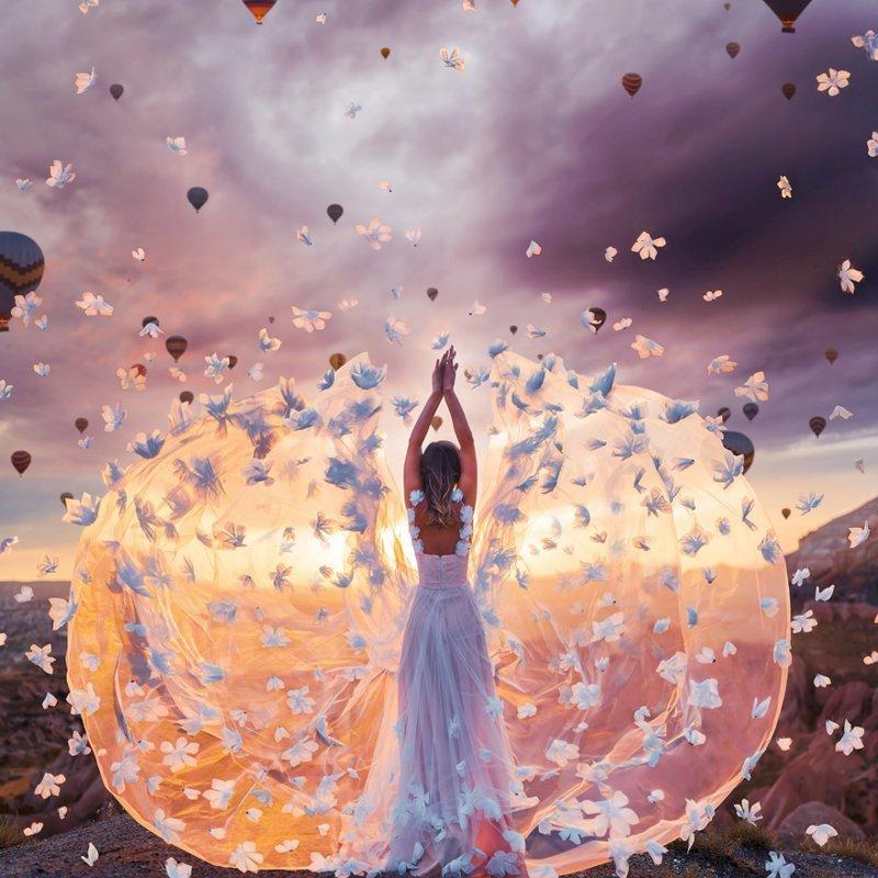 13. Каппадокия, Турция вау, девушки в платьях, красивые  места, красивые девушки, красота мира, модели, платья, фотопроект