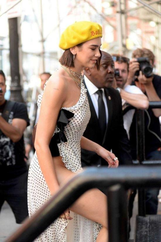Креативное платье для летней жары жара, лето, модель, нью-йорк, певица, платье
