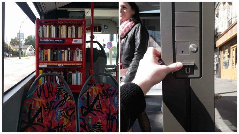 Общественный транспорт, в котором хочется ехать и ехать авто, автобус, для людей, интересное, люди, общество, транспорт