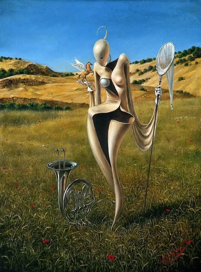 Вдохновение Михаил Хохлачев, интересное, картины, подражатели, талант