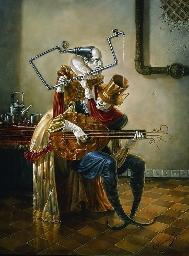 Muse Михаил Хохлачев, интересное, картины, подражатели, талант