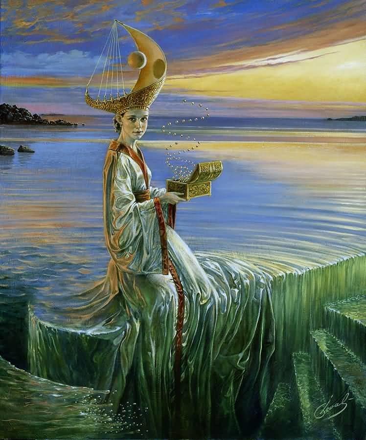 Lady of Hurricane Михаил Хохлачев, интересное, картины, подражатели, талант