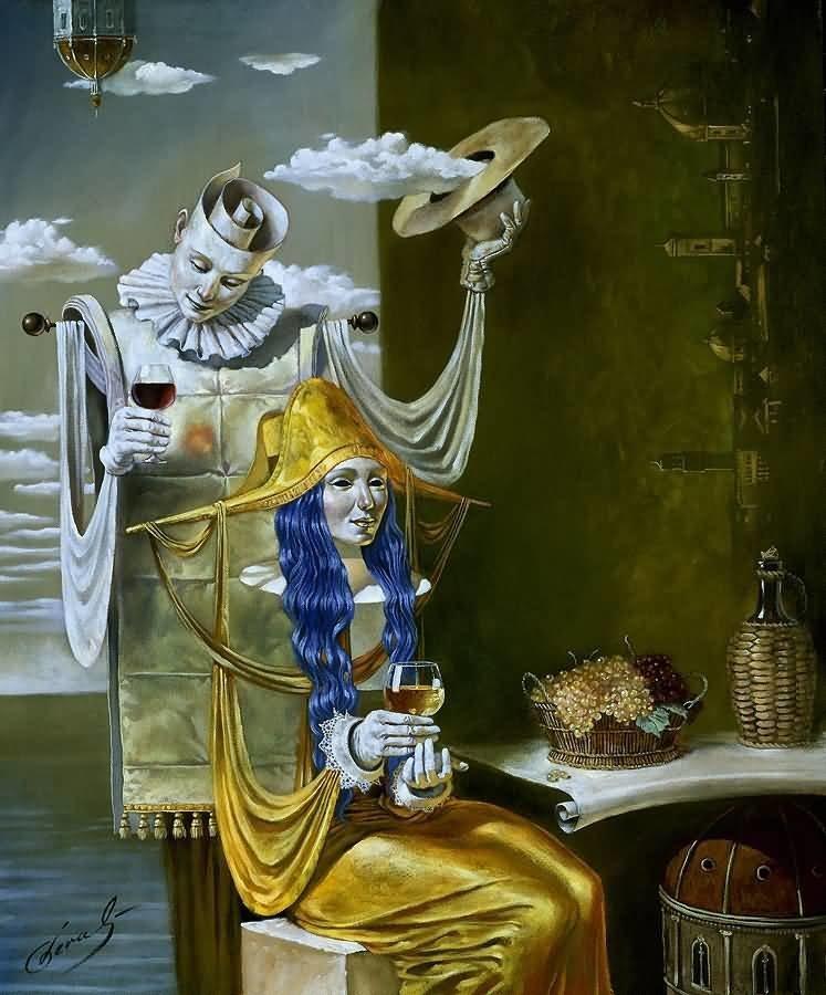 Echo of the Golden Age Михаил Хохлачев, интересное, картины, подражатели, талант