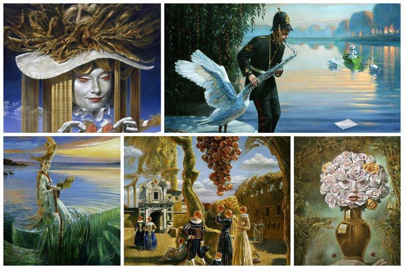 Невероятные картины Михаила Хохлачева Михаил Хохлачев, интересное, картины, подражатели, талант