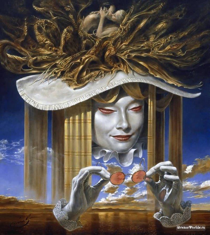 Dream World Михаил Хохлачев, интересное, картины, подражатели, талант