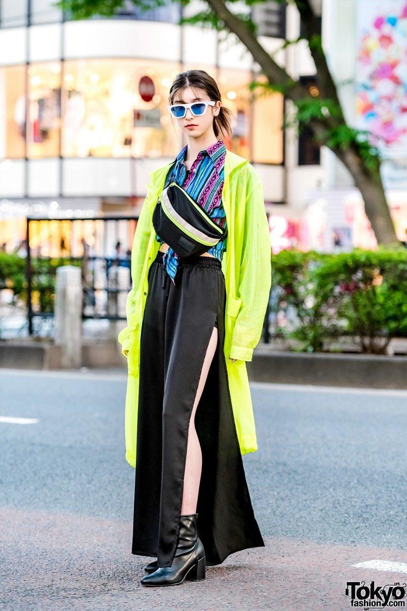 Модные персонажи на улицах Токио в мире, люди, мода, одежда, токио, чудики, япония