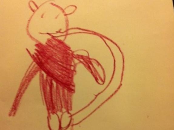 Обезьянка грызёт свой хвост дети, подборка, пошлость, прикол, рисунок, юмор