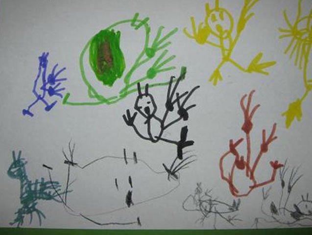Призраки гонятся за Скуби-Ду дети, подборка, пошлость, прикол, рисунок, юмор
