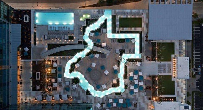 Самые необычные дизайнерские бассейны мира архитектура, бассейны, дизайн, необычные бассейны, нестандартно, отели, путешествия, удивительно