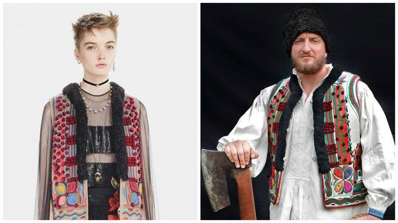 Румыны решили бороться с воришками из Dior dior fashion, вышивка, заимствование, мода, орнамент, плагиат, румыния, традиции