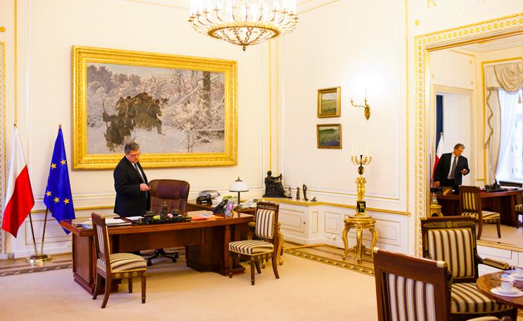 9. Польша, Анджей Дуда где решают вопросы президенты, глава страны, главы государств, кабинет президента, президенты, рабочие кабинеты президентов
