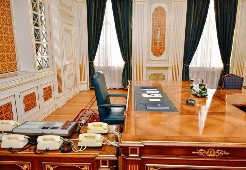 Как выглядят рабочие кабинеты президентов разных стран где решают вопросы президенты, глава страны, главы государств, кабинет президента, президенты, рабочие кабинеты президентов