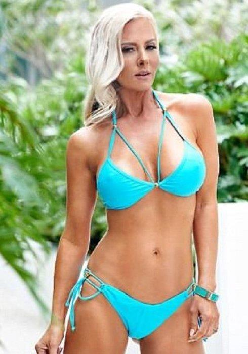 45-летняя фитнес-тренер делится секретами вечной молодости Вечная молодость, вечно молодая, женские секреты, красота, оставайся молодой и красивой, секреты красоты, фигура, фитнес