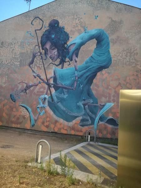 Граффити день, животные, кадр, люди, мир, снимок, фото, фотоподборка