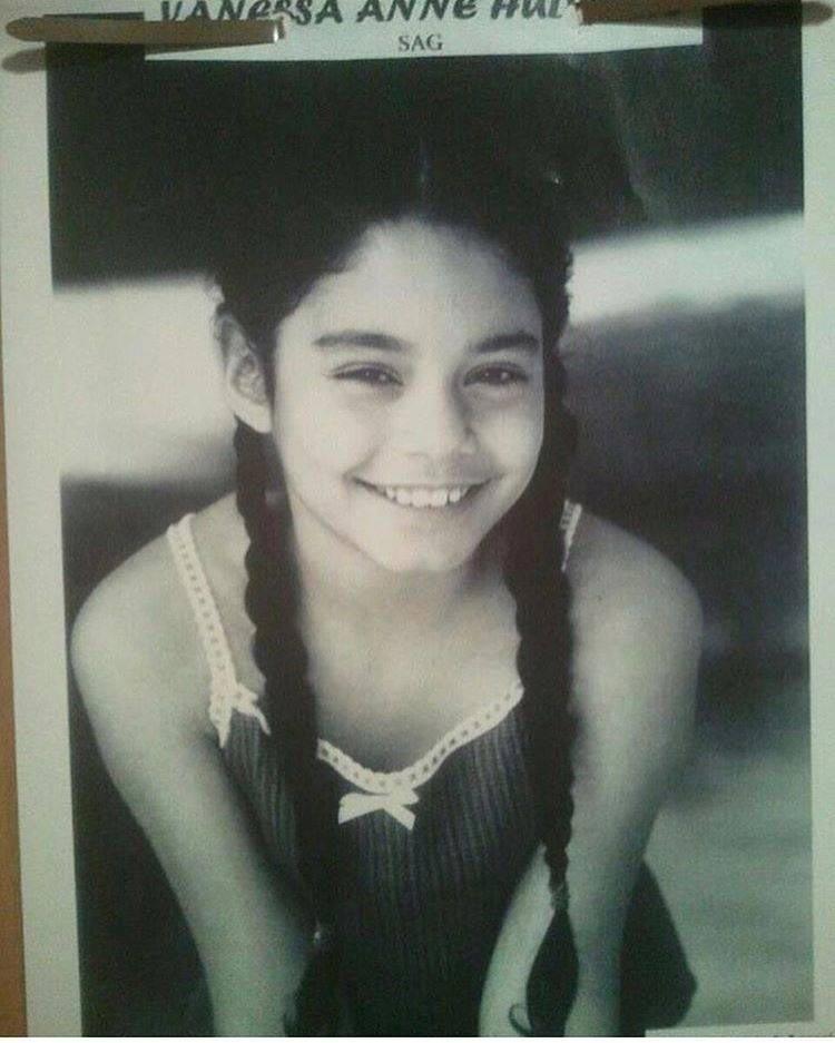 Ванесса Хадженс детсво, знаменитости, люди, тогда и сейчас, фото