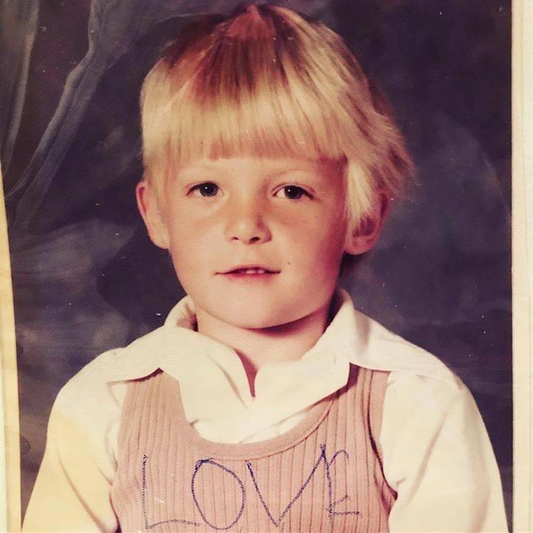Норман Ридус детсво, знаменитости, люди, тогда и сейчас, фото