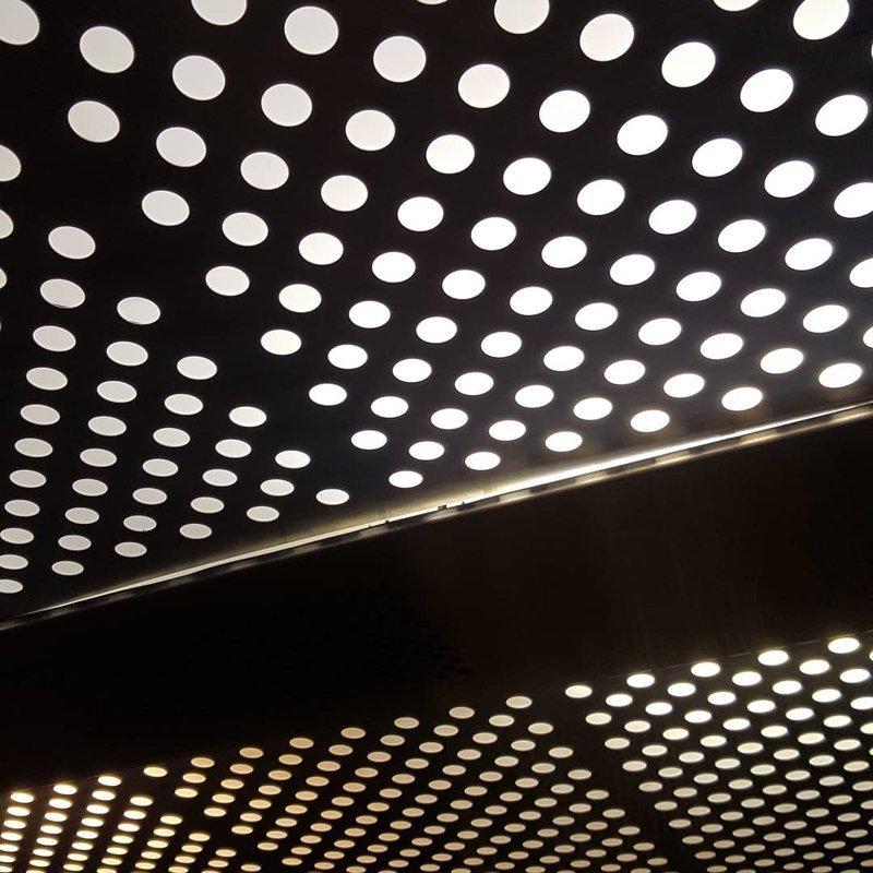Потолок в лифте #asmr, #triphophobia #трипофобия #асмр #yamaniya, трипофобия