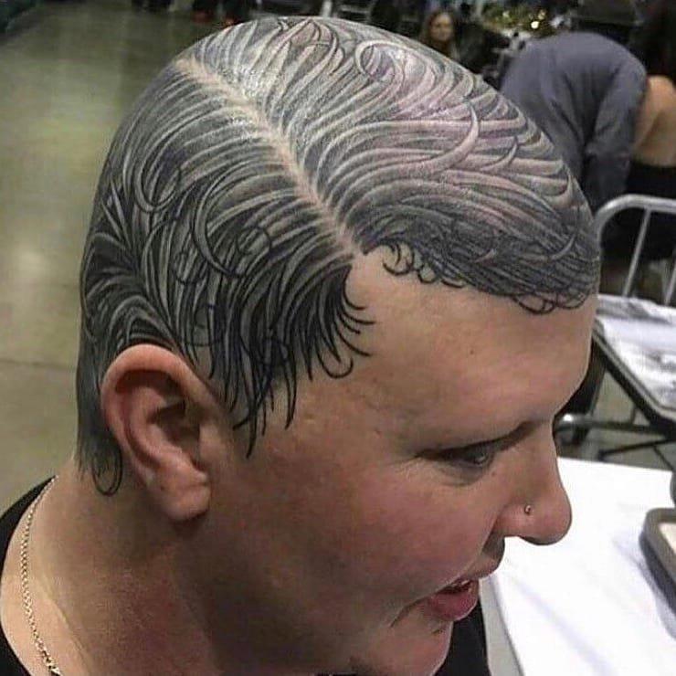 А какие можно татуировки делать? Ммммм, закачаешься! Королевы, короли, красота, лысые, смешно, юмор
