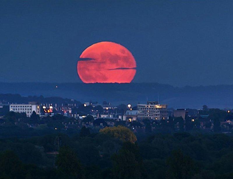 Почему Луна не падает на Землю? вопросы, интересное, мир, наука, познавательно, факты