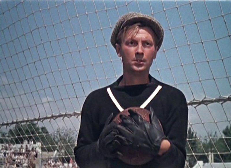 «Запасной игрок» (1954) актер, дом кино, кино, фильм, футбол