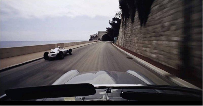 Превосходное качество съемок Гран-при Монако 1962 года, опережающее своё время на десятки лет Гран-при Монако, видео, интересное, качество, съемка, формула 1