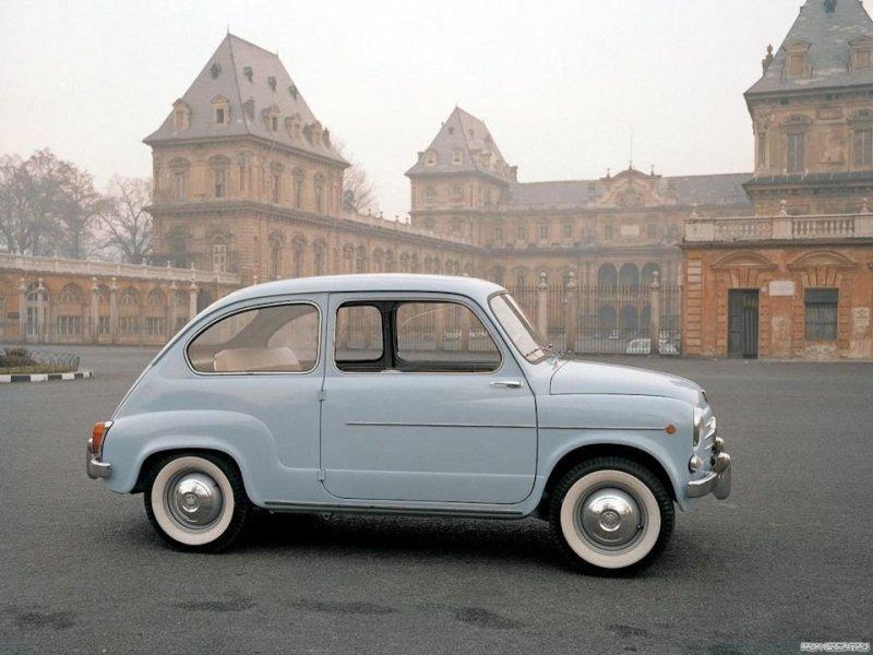 Фиат 600 авто, автомобили, заз, заз 965, запорожец, олдтаймер, ретро авто