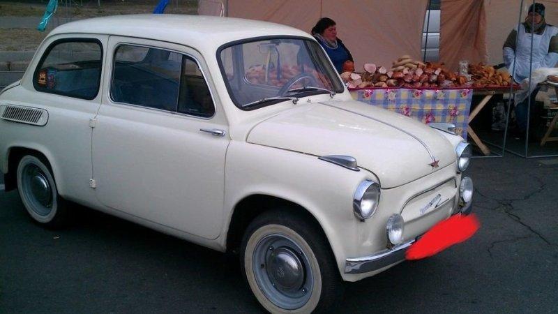Машины первых выпусков имели характерные накладные поворотники авто, автомобили, заз, заз 965, запорожец, олдтаймер, ретро авто