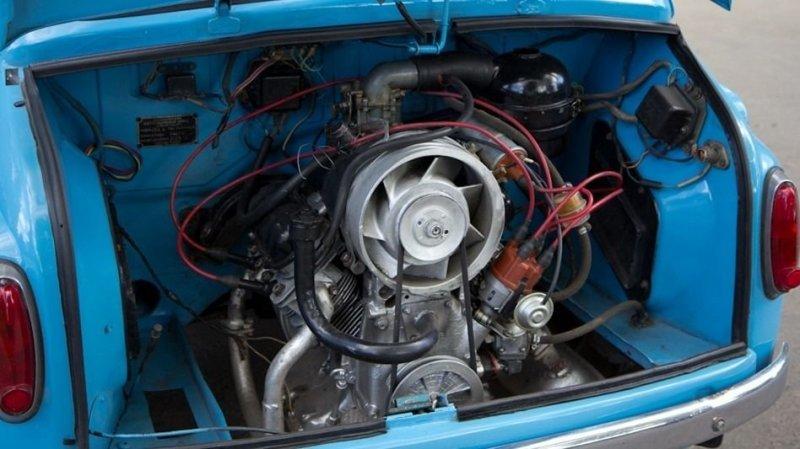 ЗАЗ-965 Легендарный «горбатый» Запорожец авто, автомобили, заз, заз 965, запорожец, олдтаймер, ретро авто