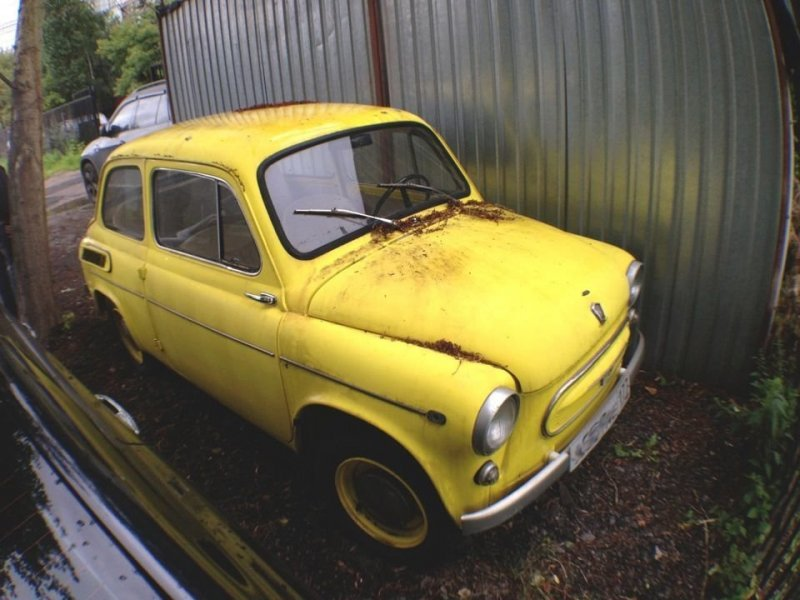 Экспортная модификация «Jalta» авто, автомобили, заз, заз 965, запорожец, олдтаймер, ретро авто