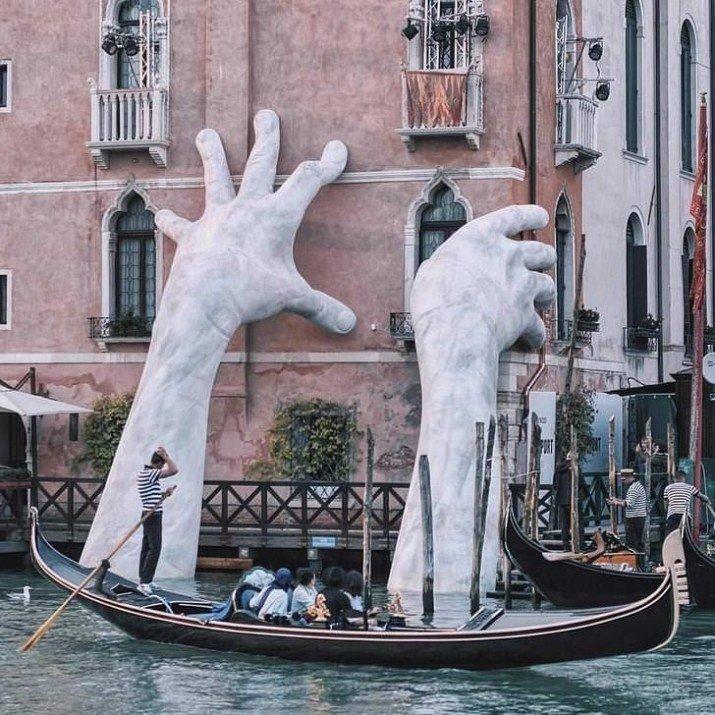 Искусство, оно иногда принимает немалые формы в мире, вещи, размер, удивительно, фото
