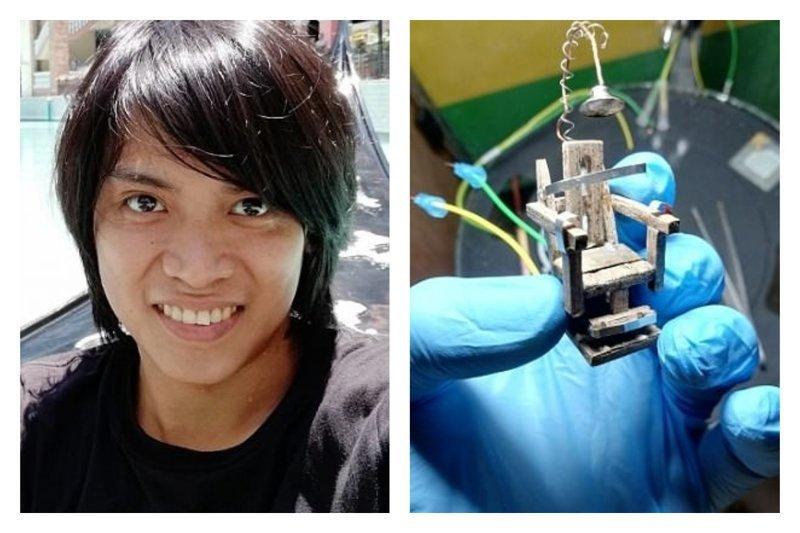 Филиппинец сконструировал электрический стул для таракана и устроил показательную казнь Gabriel Tuazon, Их нравы, насекомые, таракан, убей таракана