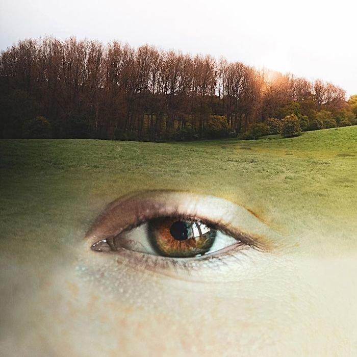 21. Натуральные брови Моника Карвальо, работа, сюрреализм, творчество, фотография, фотомонтаж