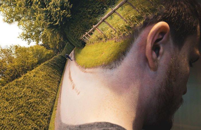11. Конец улицы Моника Карвальо, работа, сюрреализм, творчество, фотография, фотомонтаж