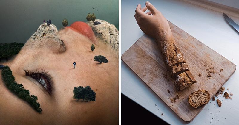 Сюрреалистические фотоманипуляции, стирающие грань между реальностью и вымыслом Моника Карвальо, работа, сюрреализм, творчество, фотография, фотомонтаж