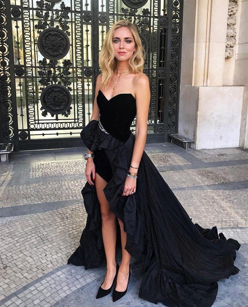 Модель и бизнесвумен Кьяра Ферраньи уже спустя пару месяцев после родов посетила Неделю высокой моды в Париже Instagram, богатство, девушка, жизнь, роскошь, соцсеть, фото