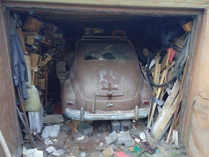 Очередная гаражная находка артефакт, газ-м-20, гараж, глобус, мурманск, находка, победа