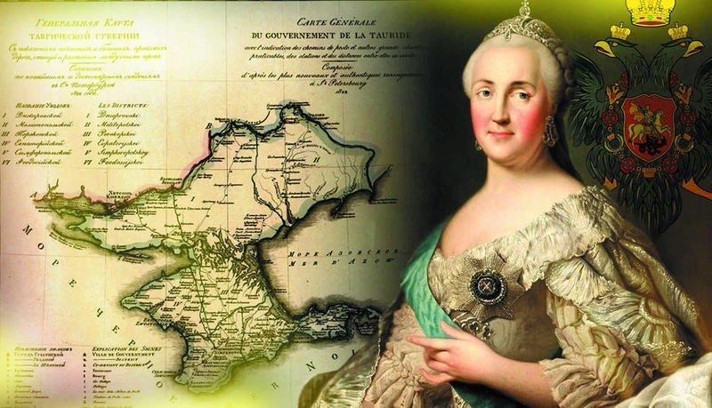 1783 год: Присоединение Крыма к России Екатерина Великая, Потёмкин, история, крым, россия, факты