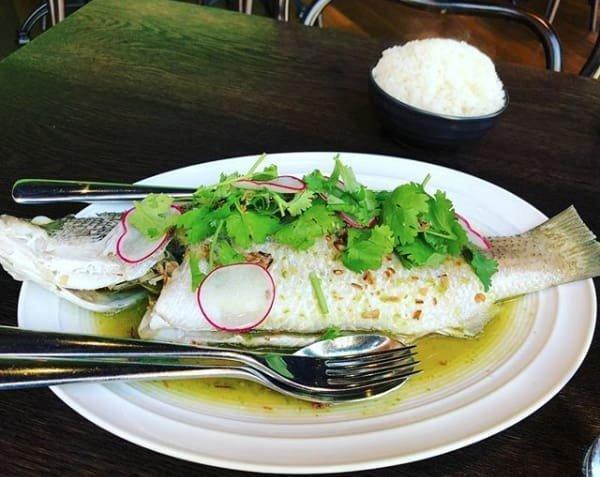 9. Вкусно - баррамунди или белый морской окунь, приготовленный на пару австралия, блюда, в мире, вкусная еда, еда, национальные блюда мира, отвратительная еда, фото
