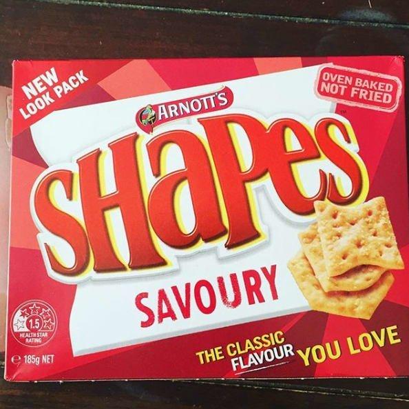 10. Отвратительно - печеньки Savoury Shapes типа крекера, которые осточертели австралийцам австралия, блюда, в мире, вкусная еда, еда, национальные блюда мира, отвратительная еда, фото