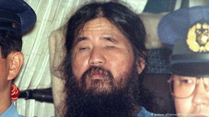 В Японии казнили через повешение основателя секты Аум Синрике Аум Синрике, Секо Асахара, казнили, основатель, повешение, секта, япония